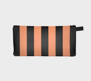 Aperçu de Black and Peach Stripes