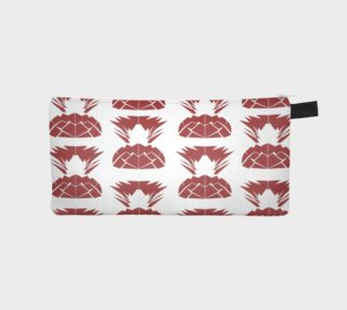 Luxury design case with Ananases red preview