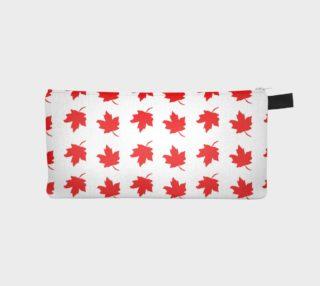 Aperçu de Red Maple Leaf Pencil Case