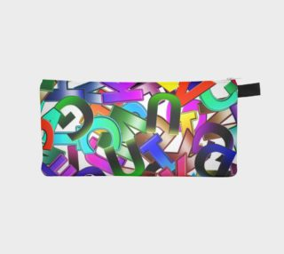 MultiLetters Pencil Case preview