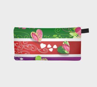 Aperçu de All My Hearts Pencil Case/Clutch/Purse/Cosmetic Bag