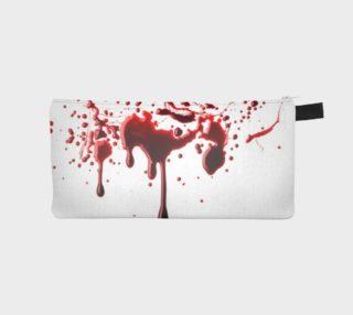 Blood Splatter three pencil case preview