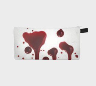 Blood Splatter four pencil case preview