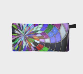Aperçu de Modern Kaleidoscope Pencil Bag/Purse/Makeup Bag