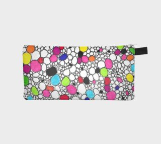 Colored Circles and  Other Shapes pencil case preview
