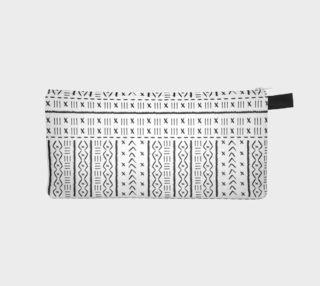 Pencil case mudcloth 1 preview