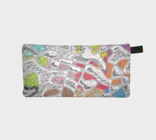 Chalk Sketch Pencil Case preview