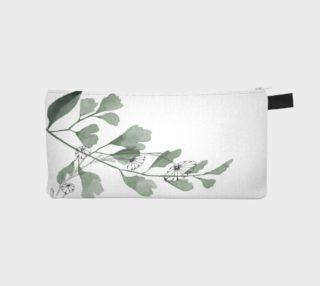 * Floral Moss Pencil Case preview