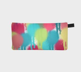 Pencil Case, Paint Splatter Case preview