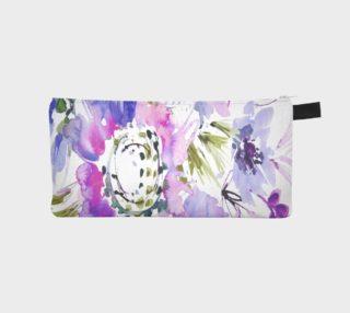 Aperçu de Lavender Blooms Zip Bag