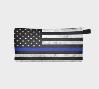 Thin Blue Line Zipper Case preview