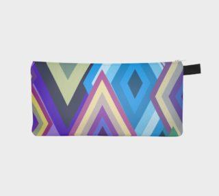 Geometrix - Diamondine Pencil Case preview