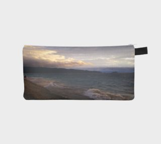 Lake Superior Agawa Bay - Cloudy Day Pencil Case preview