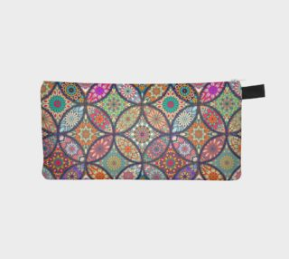 Vibrant Mandalas Pencil Case preview