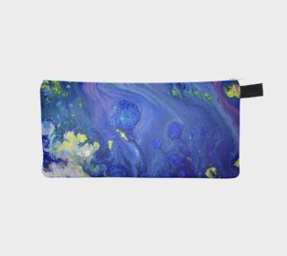 Aperçu de Blue Magic Flowers pencil Case