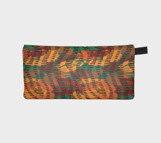 Abstract Animal Stripes Pencil Case preview