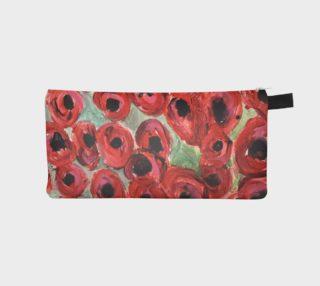 Aperçu de Benjamin's poppy field pencil case