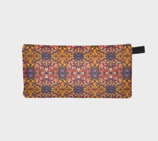 Amber Kaleidoscope Pencil Case preview