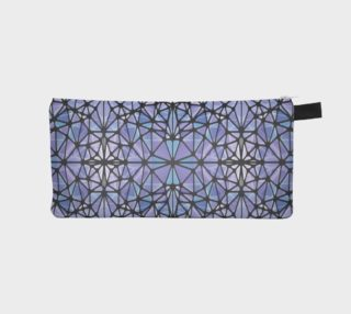 Purple and Blue Kaleidoscope Pencil Case preview