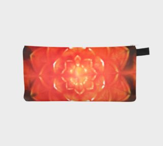 Orange Lotus Pencil Case preview