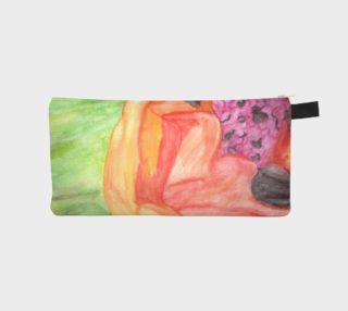 Giant Orange Poppy Pencil Case preview