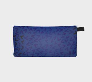 Aperçu de Arrows Pencil Bag Blue