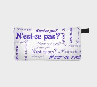 Aperçu de Purple N'est-ce Pas Pencil Case