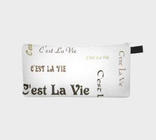 C'est la Vie Pencil Case preview