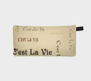 Aperçu de Coffee C'est la Vie Pencil Case