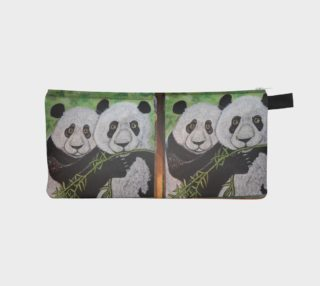 Panda Bear Pencil Case preview