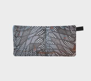Black & White Quilted Pattern Pencil Case preview