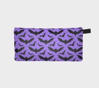Purple Bats Pencil Case preview