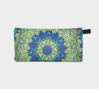Kaleidoscope #1037 zipper pouch preview