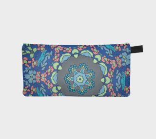 Kaleidoscope #1036 zipper pouch preview