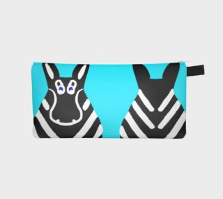 Zebra Both Ends Pencil Case preview