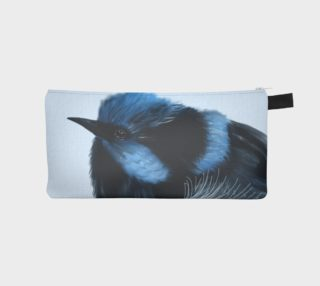 Blue Wren Pencil Case  preview