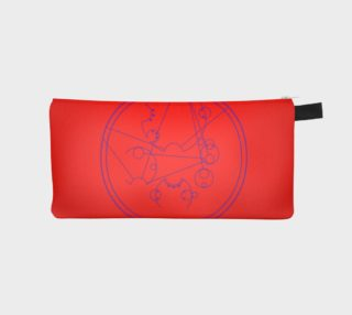 Aperçu de Carry on my wayward son Circular gallifreyan pencil case