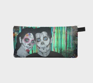 Dia de los Muertos Zippered Pouch preview