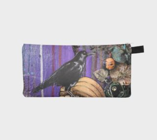 Pumpkin Patch Crow Zippered Pouch preview