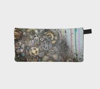 Aperçu de Clockwork Girl Zippered Pouch