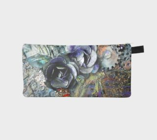 Gears and Roses Zippered Pouch preview