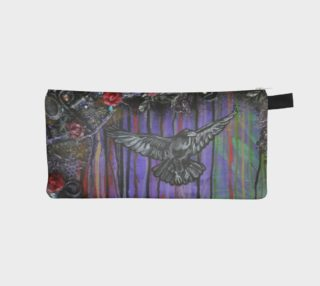 Crow Zippered Pouch preview