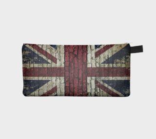 Union Jack-British Flag on brick aperçu