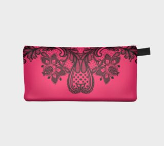 Pink and Black Lace Bag preview