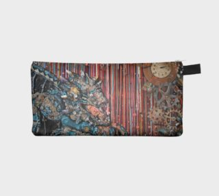 Big Ben Steam Dragon Zippered Pouch preview