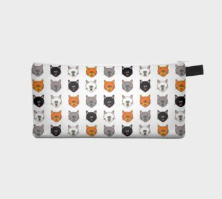 Cat lovers pencil case preview
