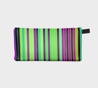 Neon Stripes Pencil Bag  preview