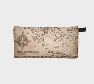 Ancient Greek Map Pencil Case Of Holding preview