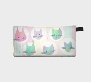 Pastel Cats Pencil Case preview