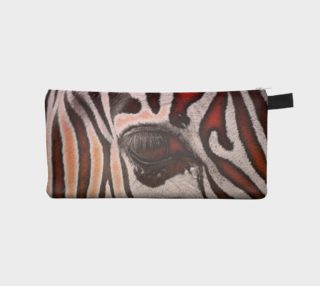 Beautiful Zebra Abstract Pencil Bag  preview